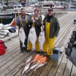 Halibut fishing charter boats ketchikan