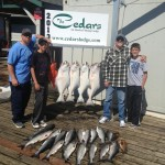 Ketchikan salmon halibut fishing charter lodge