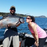 King salmon fishing Ketchikan