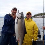 Salmon charter fishing ketchikan
