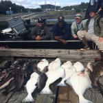 Wounded Warriors Halibut Fishing