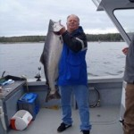 Alaska lodge charter halibut salmon fishing