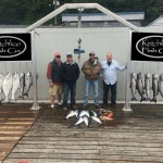 Ketchikan salmon and halibut fishing charter