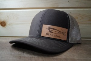 Brown/Khaki Hat (Medium Leather)