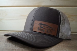 Brown/Khaki Hat (Brown Leatherette)
