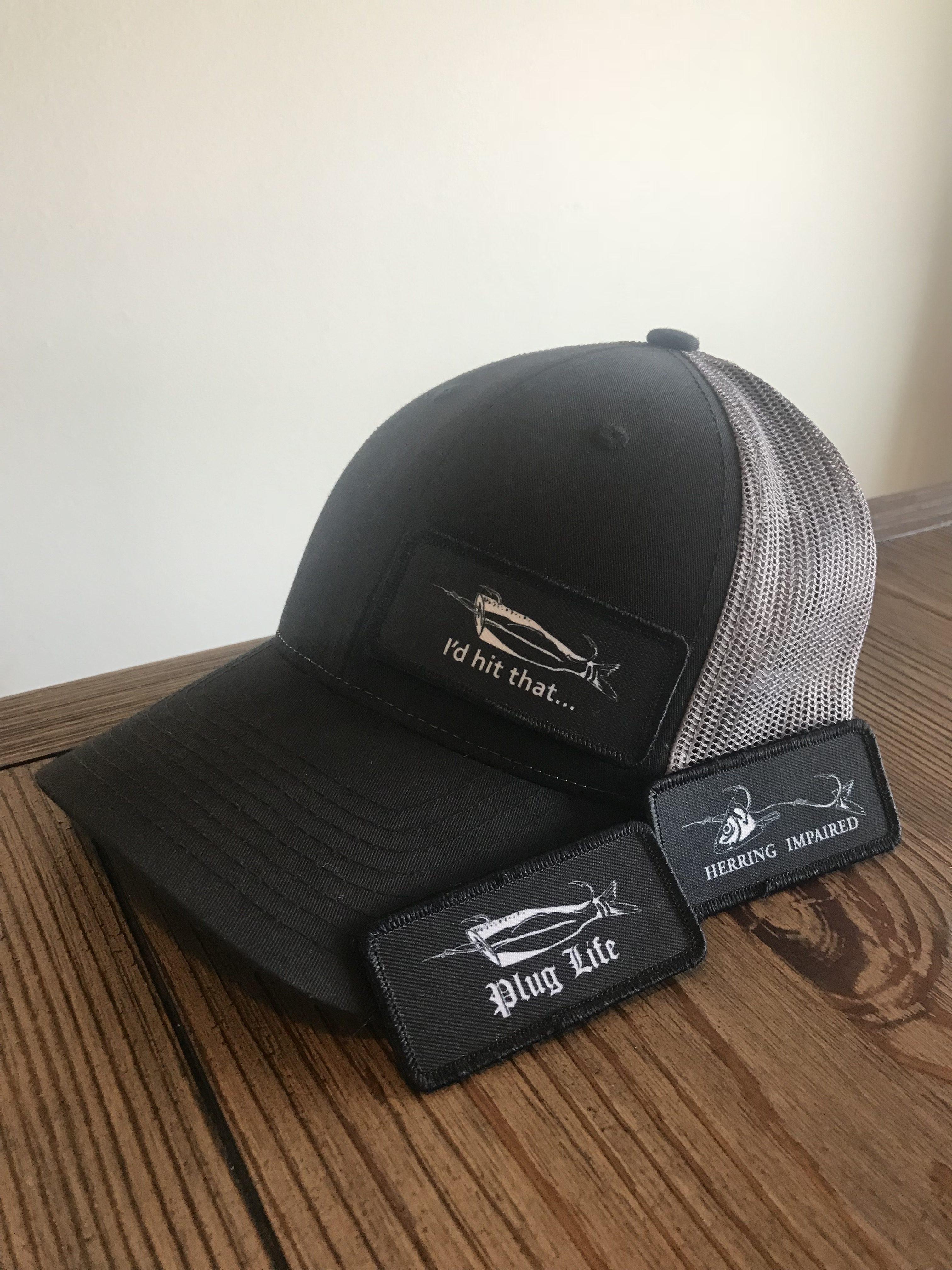 Black/Charcoal P.F.A hat
